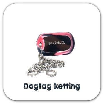 Dogtag ketting